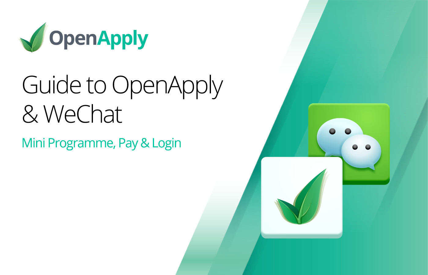 Guide to OpenApply & WeChat